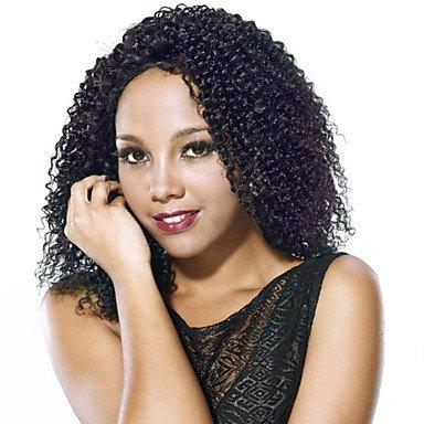 Neue Ankunfts-Menschenhaar-volle Spitze-Perücke-natürliche Farbe Jerry-Wellung Glueless volle Spitze-Perücke 150% Dichte-Seitenteil mit Baby-Haar-Spitze-Perücke für schwarze Frauen