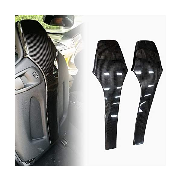 Fandixin Carbon Fiber Seat Back Backseat Trim Covers 4 PCS/Set for F80 M3 F82 M4 Fandixin Will fit for BMW F80 M3 Sedan F82 M4 Coupe 2014-up 2x2 carbon fiber will match OEM CF trim UV-Protective Clear Coated: Fade & Rust Resistant. 1