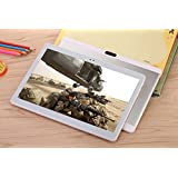 4G LTE 10inch Tablette PC Octa Core Android 6.0Tablette PC 32G RAM ROM 4G Dual SIM Dual Veille 4G Call WiFi 3G 7Silvery Étui