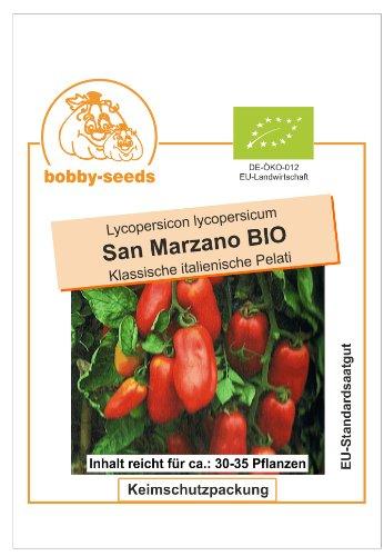 Bobby-Seeds BIO-Tomatensamen San Marzano Portion