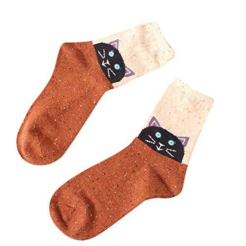 Fenverk Damen Socken Winter Thermo Vollfrottee Im Sportlichen Design Wollesocken Atmungsaktiv Warm Weich Bunte Farbe Premium QualitäT Klimaregulierende Wirkung (C)