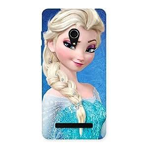 Special Premier Princess Wink Multicolor Back Case Cover for Zenfone 5