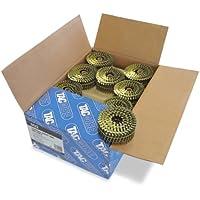 Tacwise 0422 - Caja de bobinas planas de clavos anillados 2.5/50 mm (300 clavos en cada bobina)