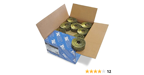 2,1//32mm,14.400 St/ück pro Verpackung Tacwise 1001 Nagelspule Gl/änzend Kugelf/örmig