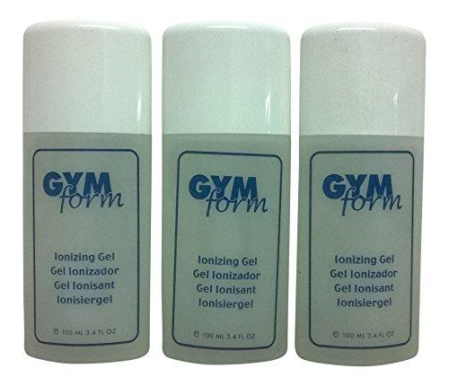 Gymform Ionisiergel Ionizing Gel Kontaktgel für Bauchgürtel EMS