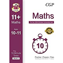 10-Minute Tests for 11+ Maths Ages 10-11 (Book 2) - CEM Test (CGP 11+ CEM) (English Edition)