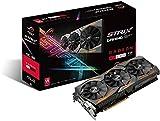 ASUS AMD Radeon RX 480 STRIX 08G 8 GB 8000 MHz GDDR5 256 Bit Memory PCI-Express 3 DVI/HDMI/DP Graphics Card - Black