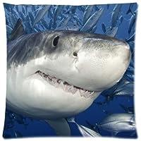 Proud Clothing Weißer Hai, Kissenbezug, Quadratisch, Deko Kissen  Kissenbezug Kissenhülle Kissen,