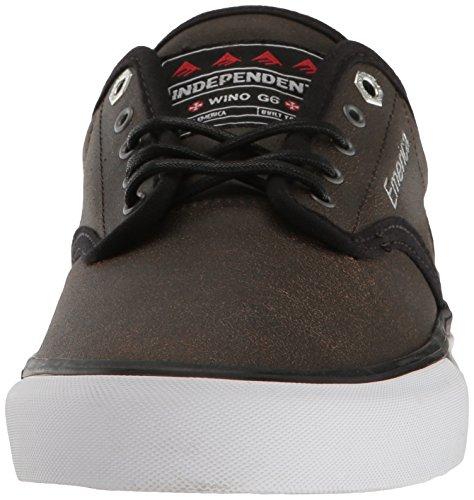 Emerica Herren Wino G6 Navy Gum White Skateboardschuhe Braun