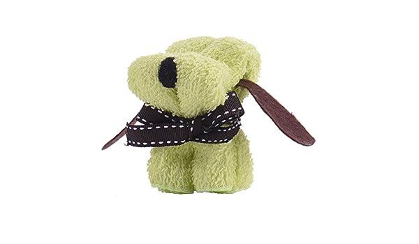 Eg /_ Hund Kuchen Form Handtuch Baumwolle Waschlappen Hochzeit Weihnachtsgeschenk