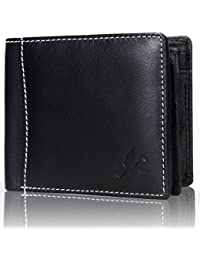 HORNBULL Black Men's Wallet
