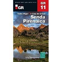 GR11, senda pirenaica-Cabo Higer/Cap de Creus : 1/50 000