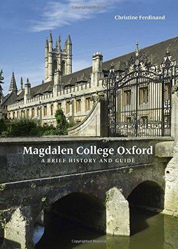 Magdalen college Oxford par Christine Ferdinand