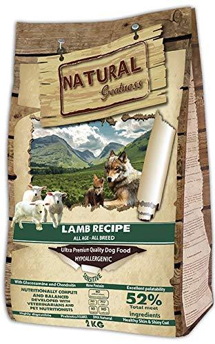 Natural Greatness Pienso seco Perros Receta