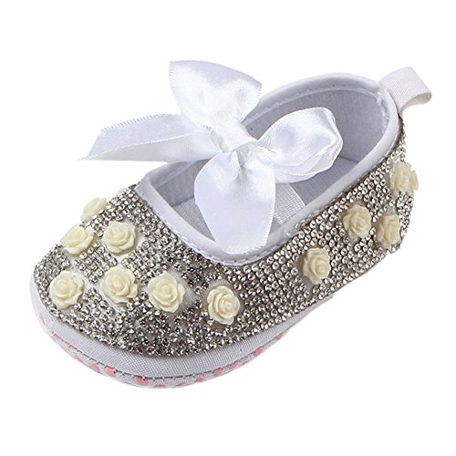 Leap Frog  Diy Diamond Toddler Shoes,  Baby Mädchen Mary Jane Halbschuhe Weiß