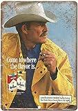HiSign Marlboro Man Cigarette Blechschilder Metall Poster
