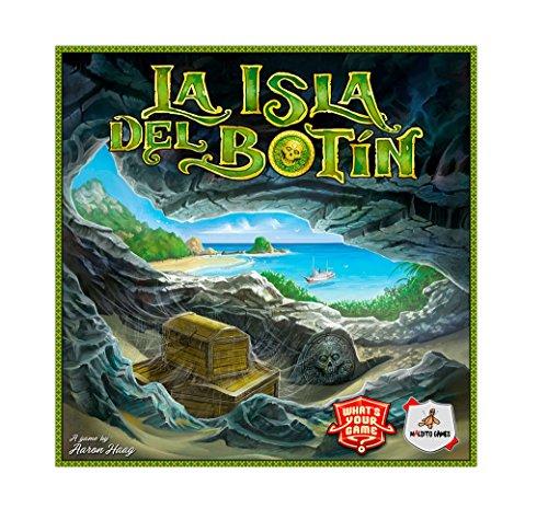 Maldito Games La Isla Botín - Juego Mesa Castellano