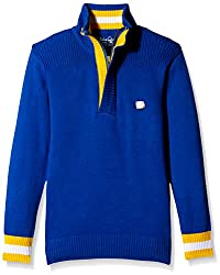 Status Quo Cubs Boys Sweater (CB-FK-554_Royal_28)
