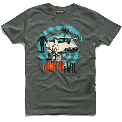 Baretta T-Shirt, grey 60er Jahre Kultfilm Hunter of -