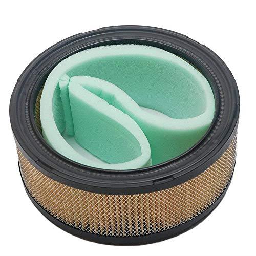 Oxoxo faciles à filtre à air Nettoyant pour 253t 47 883 03 John Deere M47494 pour Cv17-cv23, Cv724-cv740, Ch18-25 et Ch730-740 tondeuse à gazon (ID : 5-9/40,6 cm, diamètre extérieur : 17,8 cm, H : 2-1/5,1 cm)