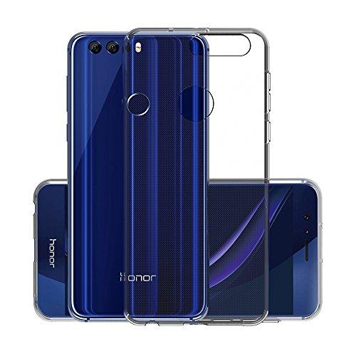 CANWN Honor 8 Coque de Protection, Coque Honor 8 Silicone Gel Transparente Etui Housse Huawei Honor 8 TPU Souple Coque pour Honor 8 (5.2 Pouces)