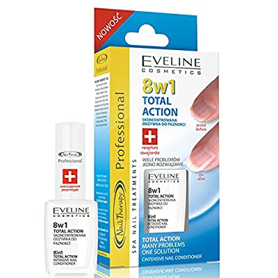 INTENSIVE NAIL CONDITIONER - PROFESSIONAL THERAPY - Eveline Cosmetics - 8 in 1