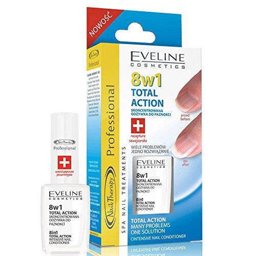 Eveline Cosmetics Nail Therapy Intensive Nail Klimaanlage 8in1Total Action 12ml (Klimaanlage Mechanische)