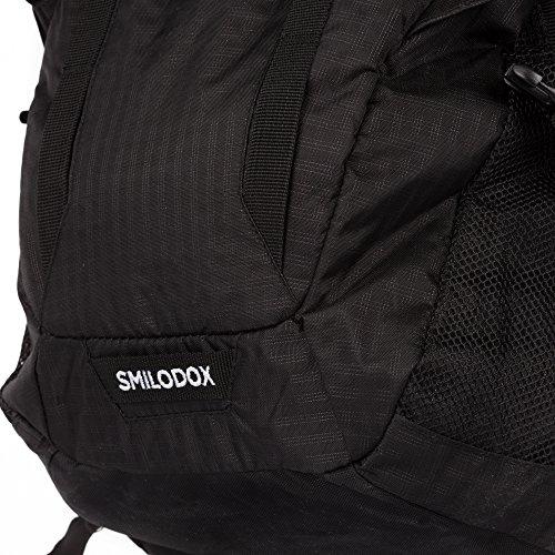 Smilodox Rucksack Gym Classic 16,0 Notebook Laptop Gym Rucksack Schule Black/Black