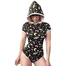 LittleForBig Body bébé pour Les Adultes Amoureux des Couches (ABDL)  Barboteuse avec Une Ouverture 757b4885aaa