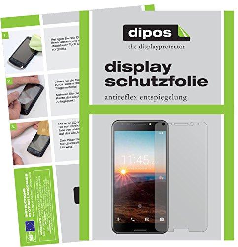 Alcatel A7 Schutzfolie - 2x dipos Displayschutzfolie Folie matt