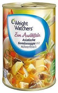 soupe de légumes Weight Watchers asiatique avec poulet - 400ml