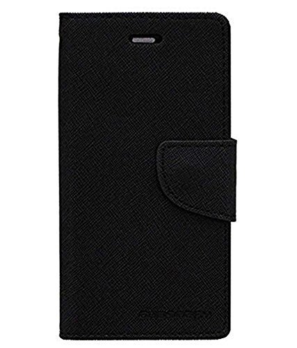 STAPNA® Stylish Luxury Mercury Magnetic Lock Diary Wallet Style Flip Cover Case for Samsung Galaxy S duos 2 GT-S7582 -Black  available at amazon for Rs.325