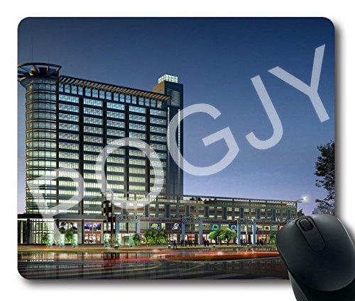 POGJY Gaming Mauspad 7 x 8 Inches, Mousepad, Verbessert Präzision und Geschwindigkeit, Gummiunterseite für Stabilen Halt auf Glatten Oberflächen, Rutschfest, Strapazierfähig Schwarz - architektonisch image 327
