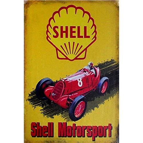 YOMIA Bar Decor Auto Blechschild Metall Poster Bar Schilder Filmplakat Iron Painting Art Cafe Bar Pub Garage Vintage Metallschilder für Wand -