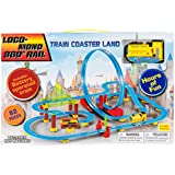 82pcs ChuChu Train Coaster With Loop 360 Loco-Monorail Land Bullet Train Play Set (Yellow)