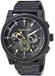 Michael Kors Analog Black Dial Mens Watch - MK8600