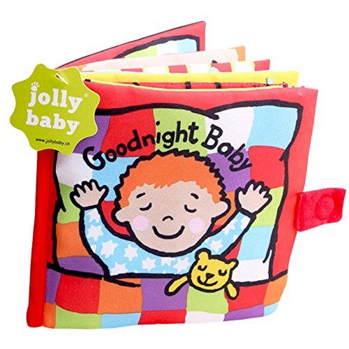 Jollybaby - Juguete Libro Blando para Bebés de Actividad Educativo Peluche Infantil Multifuncional Libro de Paño - 1