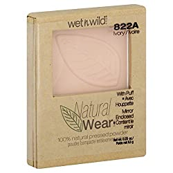 Wet n Wild Natural Wear Pressed Powder 100% Natural Ivory 822A