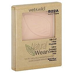 Wet n Wild Natural Wear Pressed Powder 100% Natural Ivory 822A