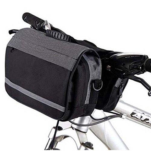 Multifunktionale Fahrrad-Fahrt Tasche einzelner Schulter-Beutel Frontseiten-Schlauch-Beutel kaffee