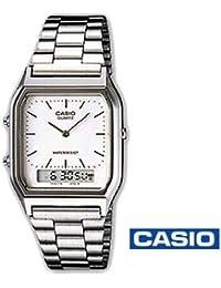 CASIO profesionalizando/reloj digital AQ-230A - 7dmqyes ((CASIO) analógico/digital (aq-230a - 7dmqyef) reloj inteligente y casual CASIO reloj …