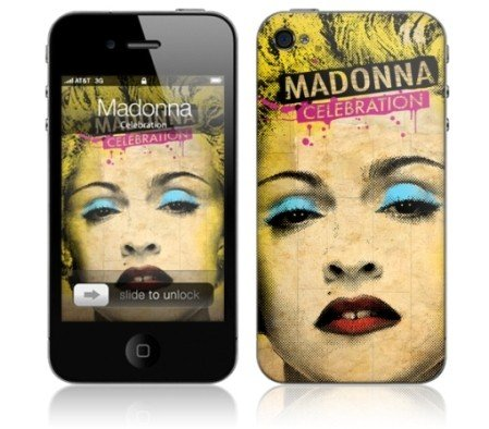 MusicSkins Madonna Celebration für iPod Touch (4th Gen) [Elektronik] 4th Gen Skin