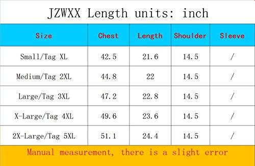 JZWXX Herren Outdoor Fischen Angler Weste Praktischen mit vielen Taschen Outdoorweste Fotografie Westen Men Vest DE02# Black