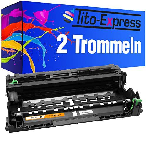 Tito-Express PlatinumSerie 2X Trommel-Einheit für Brother DR-3400 5500DN 6600DW 5000D 5100DN 5100DNT 5100DNTT 5200DW 6250DN 6300DW - Einheit Betriebsanleitung