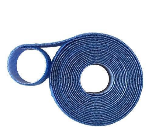 Velcro® Marke Haken und Loop one-wrap ® Rückseite an Rückseite Umreifung in blau 2cm breit, blau, 2 m
