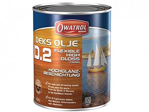 Owatrol-DECKS OLJE D2- Hochglanzbeschichtung .Gebindegrösse 20 Liter (Deck Sealer)