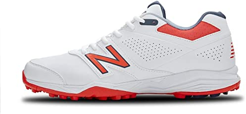 New Balance Men's CK4020B3 Full Rubber Spike Cricket Shoes