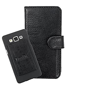 DooDa PU Leather Wallet Flip Case Cover With Card & ID Slots For Intex Aqua Xtreme - Back Cover Not Included Peel And Paste