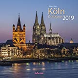 Köln 2019 bella vista Broschürenkalender 30 x 60 cm aufgeklappt