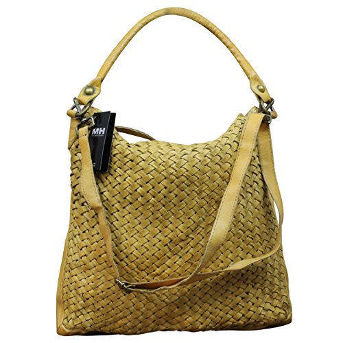 My-Musthave, Borsa tote donna giallo Gelb Medio Gelb